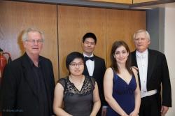 Ken Lim, Michael Lloyd, Ottília Revóczky, Peter Thomas, Shi Ling Chin