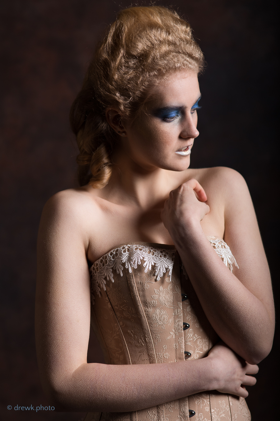 Baroque Ball Model : Ariel Marie<br />