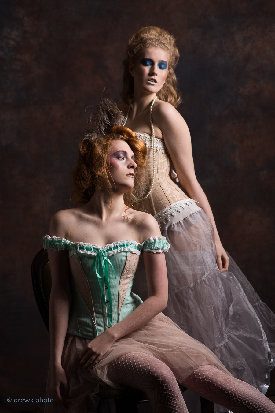 Baroque Ball Models : Chynna and Ariel Marie<br />