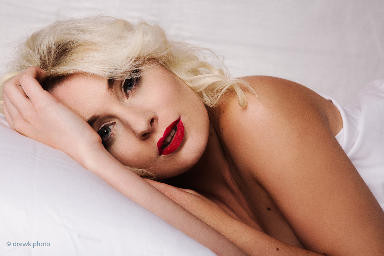 Blonde From a Marilyn Monroe themed shoot