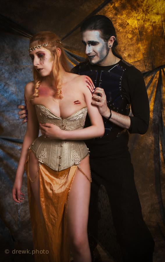 Persephone &amp; Hades Models : Nenedhel & Count Chronos Morté<br /> Hair & Makeup Artist : Tamaris Orton