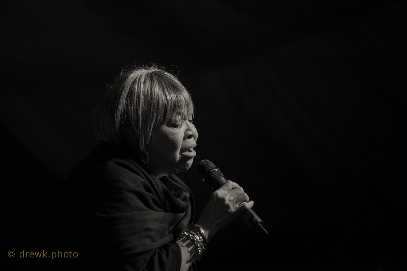 Mavis Staples ... at the 2014 Mostly Jazz. Funk & Soul festival