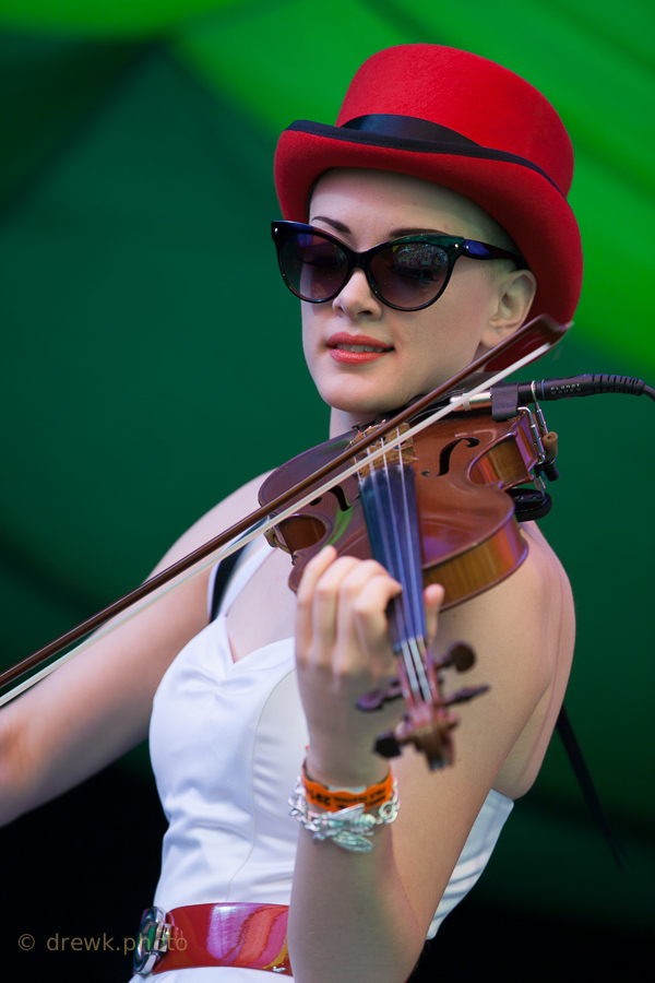 Miles Hunt & Erica Knockalls ... at Moseley Folk 2014