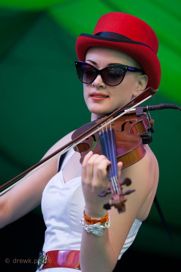 Miles Hunt & Erica Knockalls ... at Moseley Folk 2014
