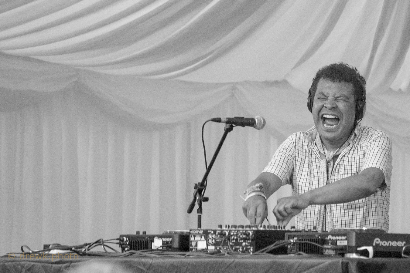 Craig Charles ... at the 2011 Mostly Jazz festival