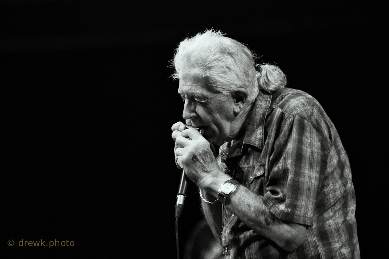 John Mayall ... at the Symphony Hall, Birmingham