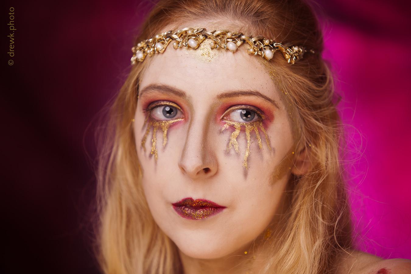 Persephone Model : Nenedhel<br/> Hair & Makeup Artist : Tamaris Orton