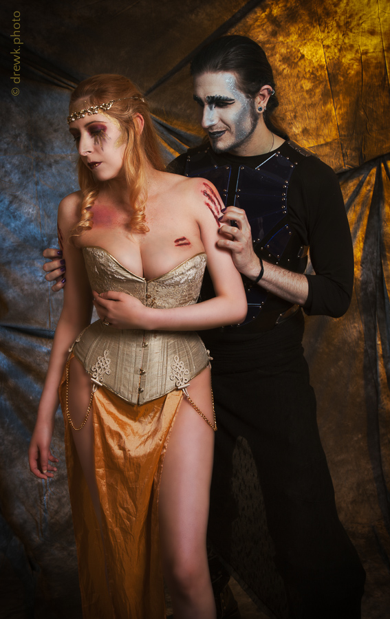 Hades and Persephone Models : Nenedhel & Count Chronos Morté<br/>
