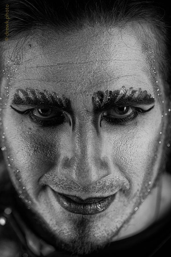 Hades Model : Count Chronos Morté<br/> Hair & Makeup Artist : Tamaris Orton