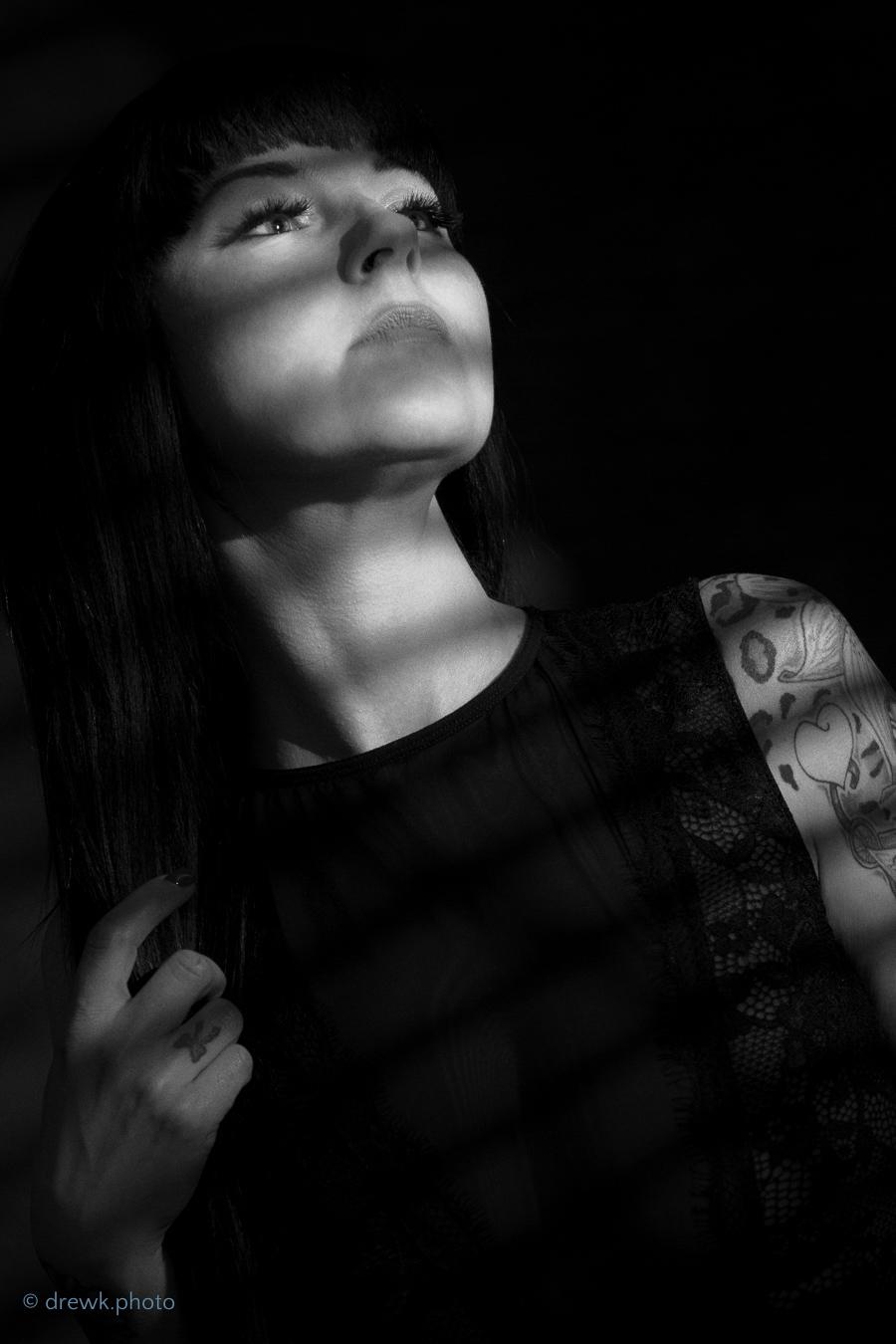 Boudoir portrait Model : Minx