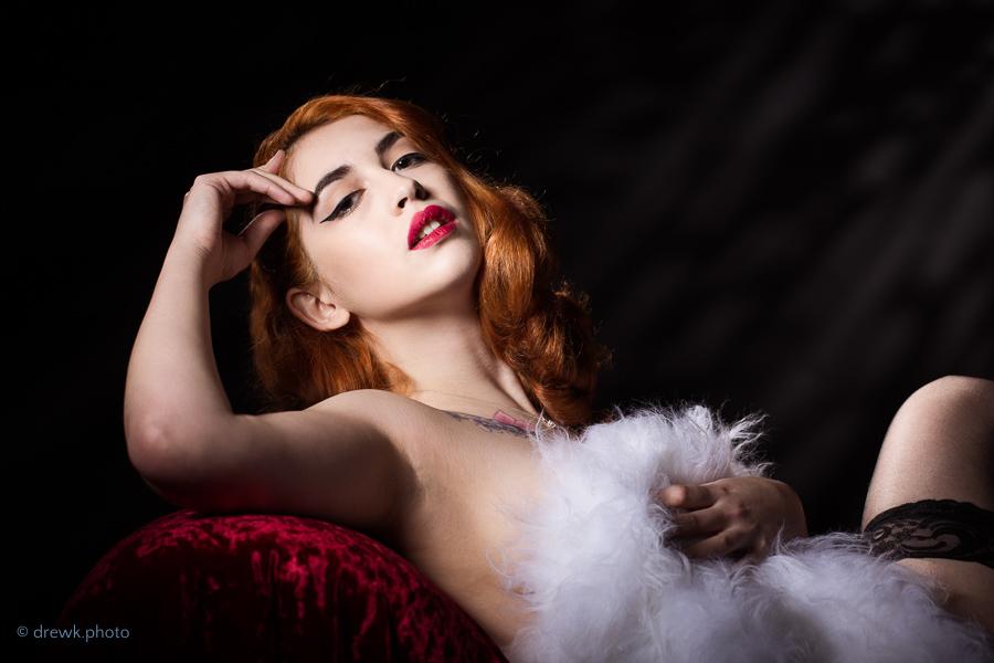 Classic glamour Model : Argine, HMUA :  Sydnee-Beth