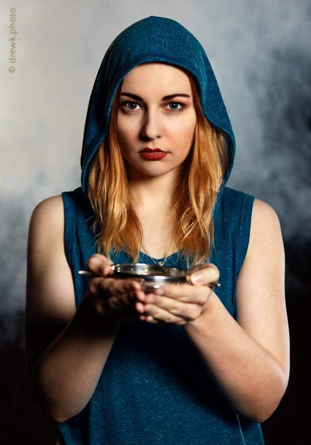 Priestess Location shoot<br /> Model : Laura (LJW)<br /> Lighting & Smoke : Dayle Lester