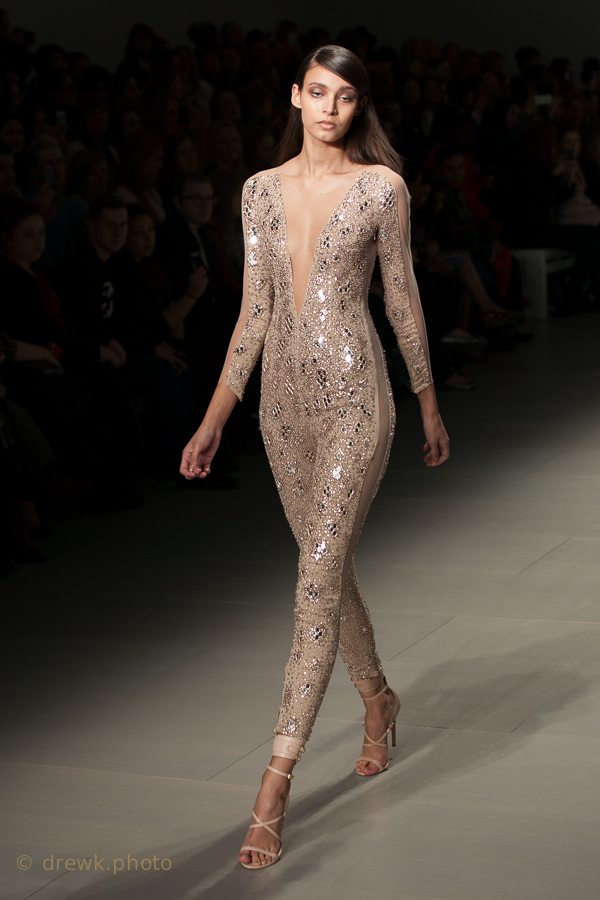 from the Julien MacDonald collection London Fashion Weekend, S/S 2014