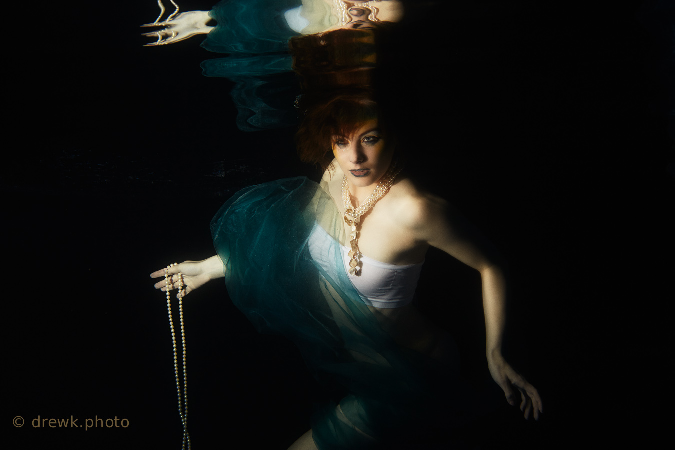 ... when we could be diving for pearls Model : Holly Alexander<br />