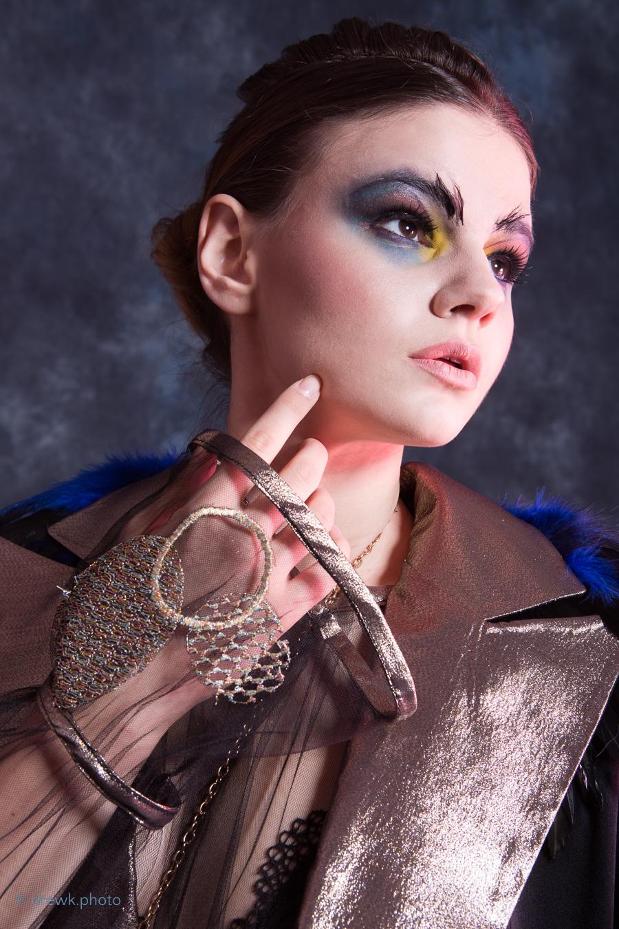 Simourgh Student fashion shoot for Nazira Muslem.<br /> Model : Dayana Tsvetkova<br /> MUA : Callelyne<br /> Hair : Sydnee-Beth Cross
