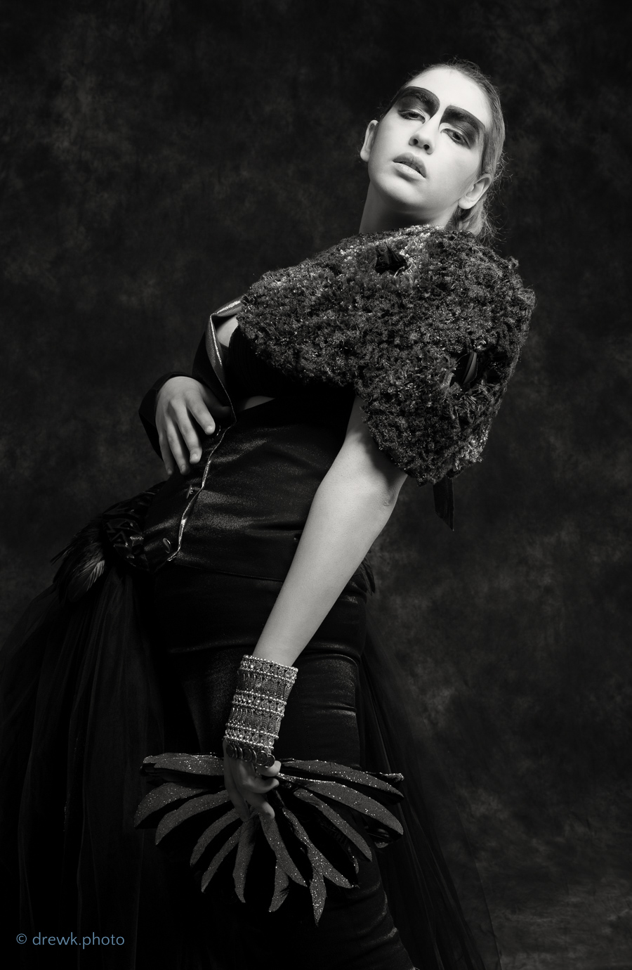 Simourgh Student fashion shoot for Nazira Muslem.<br /> Model : Argine<br /> MUA : Callelyne<br /> Hair : Sydnee-Beth Cross