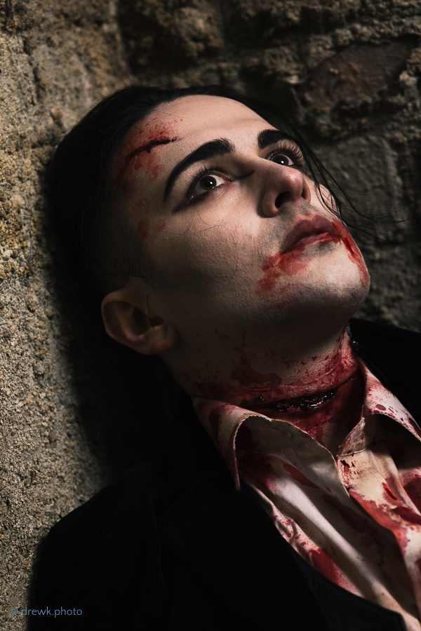 \'Gothic Horror\' themed shoot - Olivia Tataryn, BA (Hons) Specialist Hair & Makeup