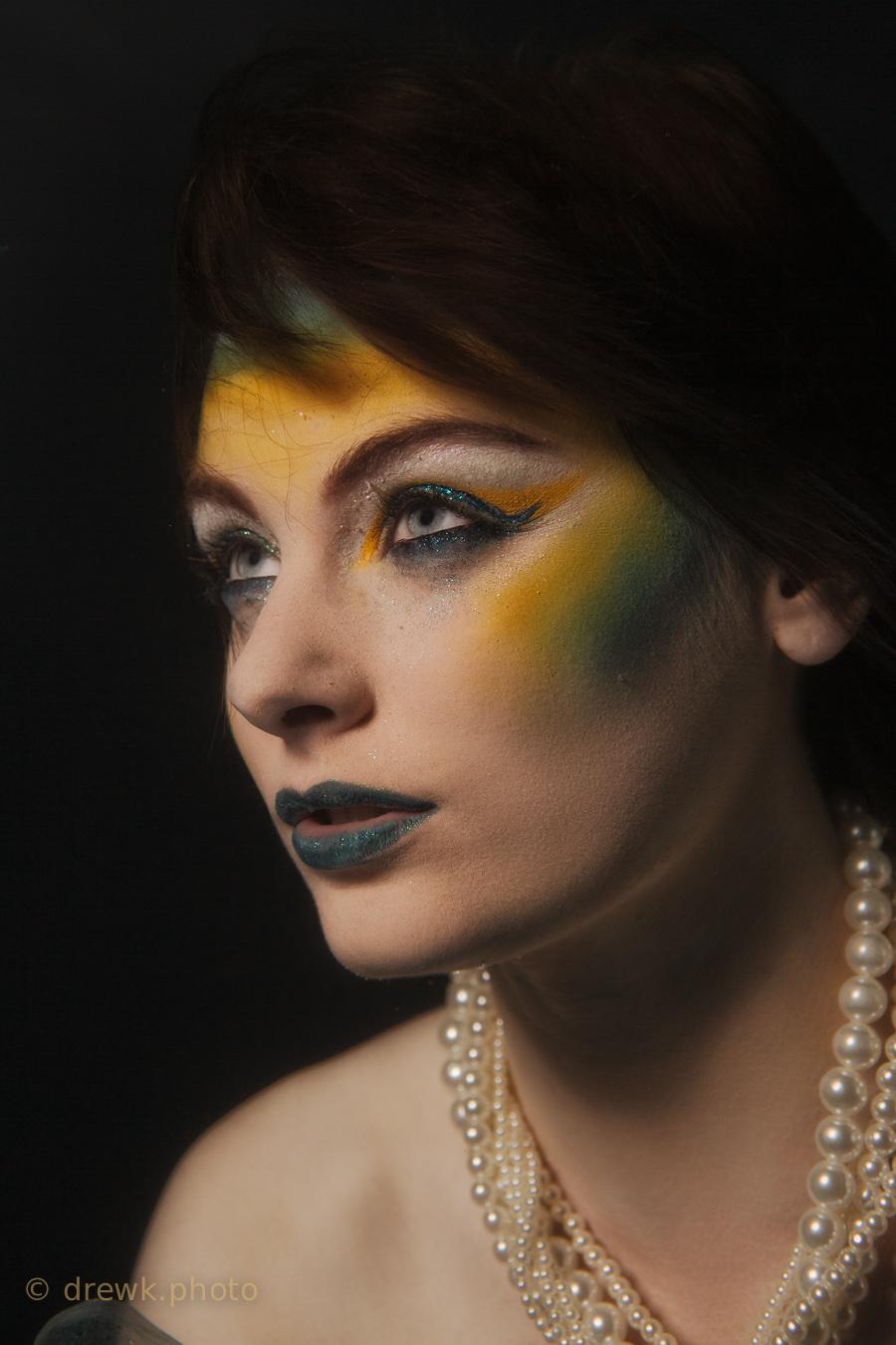 Holly Model : Holly Alexander<br /> MUA : Allkah